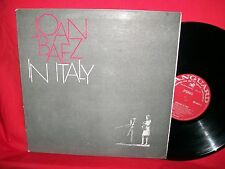 JOAN BAEZ In Italy LP 1967 AUSTRALIA First Pressing G/f Mint-Bob Dylan RARITA'