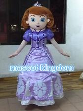 Best Sophia Princess Mascot Costume Sofia Fancy Dress Adult Free Ship SF001 EVA