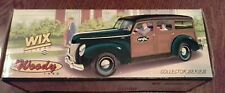 WIX FILTERS/DANA 1940 FORD WOODY  Die Cast by ERTL Limited Edition New in Box