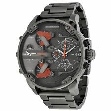 Diesel DZ7315 Mens Grey Dial Analog Quartz Watch with Stainless Steel Strap