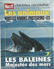 Coupure de presse Clipping 1996 National Geographic les Baleines (14 pages)