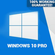 WINDOWS 10 PRO PROFESSIONAL ORIGINAL 32/64 BIT LICENSE KEY CODE OEM SCRAP PC