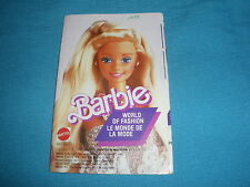 399A Catalogue Dépliant Barbie 1988 Mattel 24 pages Ken Lucky Poupée