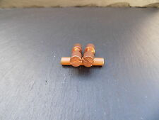 1 pair COPPER CORBY RIVETS  KNIFE MAKING HANDLE  SCALES BOLT BUSHCRAFT