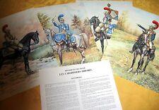 PLANCHES UNIFORMES 1er EMPIRE P.CONRAD tel ROUSSELOT .LELIEPVRE .RIGO lot 02