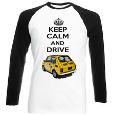 MALUCH POLISH FIAT 126 P KEEP CALM 1 - NEW COTTON TSHIRT - ALL SIZES IN STOCK
