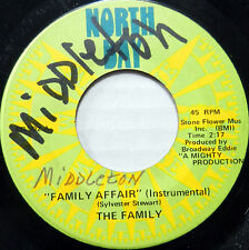 THE FAMILY 45 Family Affair / Nation Time NORTH BAY Soul INSTRUMENTAL #A867