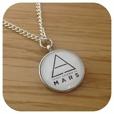 *30 seconds to mars* Echelon 3STM round necklace Triad