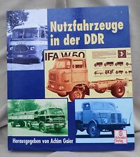 "4132 EAST GERMAN/DDR/GDR COLD WAR "" TRUCKS/BUSES on the Roads of DDR ""  cir 1999"