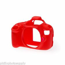 easyCover Armor Protective Skin for Canon EOS Rebel T5 - Red ->Free US Shipping