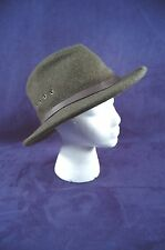 VTG FILSON 100% Virgin Wool Custom Made Green Garment Hat Sz 6-7/8, 7 Free Ship