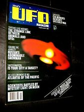 Ideal's UFO Magazine Feb 1981 CIA UFO COLD WAR LOST continent of MU aliens