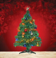 2 Ft Artificial PVC Christmas Tree W/Stand/UL Light string/Ornaments/Garland