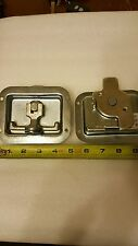 set of military door latch ,tool box handle stainless steel nsn 2540-01-540-6548