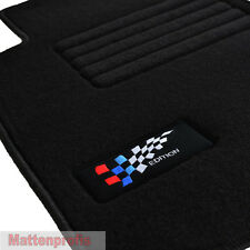 Velours Edition Fußmatten Autoteppiche für BMW 1er E87 5-türig ab Bj.2004 - 2012