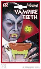Brillano al buio VAMPIRO DRACULA Denti Haloween FANCY DRESS