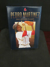 MLB- PEDRO MARTINEZ REPLICA H.OF F. PLACQUE AS GIVEAWAY ON RED SOX DAY FOR PEDRO