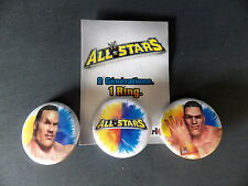 Goodies jeux vidéo Badges WWF / WWE ALL STAR wrestling catch