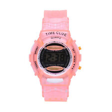 Kids Student Time Digital Watch LCD Display Boy Girl Sport WristWatch Relojes PK