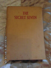 VINTAGE -1ST EDITION     COPY OF THE SECRET SEVEN  BY ENID BLYTON