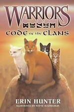 WARRIORS FIELD GUIDE: CODE OF THE CLANS No 3 ERIN HUNTER 2009 HARDCOVER Like New