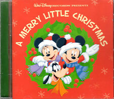 Walt Disney's A MERRY LITTLE CHRISTMAS: 18 HOLIDAY FAVORITES! (CD, 2008) IMPORT!