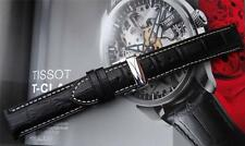 DEPLOYMENT LEATHER STRAP TO FIT TISSOT T-TOUCH  Z254/354 T33131832, T33132851