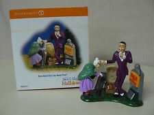 Dept 56 Halloween Village HOW ABOUT OUR LAY-AWAY PLAN - NEW IN BOX Accessory