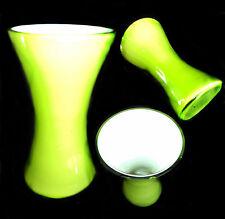 Vaso  Verde in Vetro di Murano -  Barovier, Poli, Seguso - Vase Glass 14,5x8