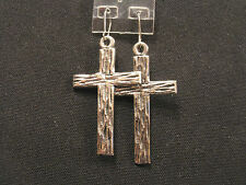 VINTAGE CROSS EARRINGS UK IMPORT GOTH PAGAN OCCULT WICCA