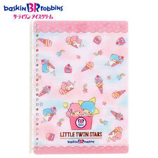 Sanrio x BR Baskin Robbins Collaboration Kiki & Lala B5 Size Loose Leaf 674117