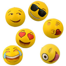 New 12pcs Emoji 12 inch Inflatable Beach Balls Super Cute Beach Toys Kids