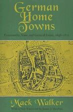 German Home Towns: Community, State, and General Estate