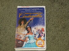 RARE OLD VINTAGE VHS CLAM SHELL USED DISNEY MOVIE CINDERELLA