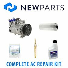 Audi A4 DOHC 05-06 2.0L 1.8L Complete A/C Repair Kit W/ NEW Compressor & Clutch