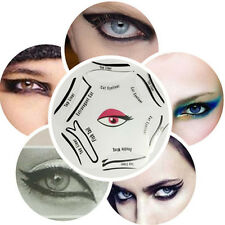 Multi Cat Eye Stencil - Eyeliner Template - Fish Tail Double Wing- make up tool!