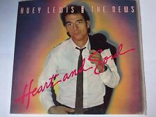 """Huey Lewis & The News - """"Heart and Soul b/w You Crack Me Up"""" (2 track 7"""")"""