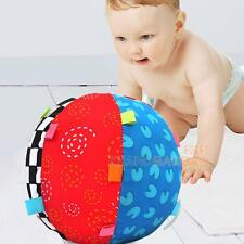 Colorful Ball Bell Children Toys Baby Hand Grasp Ball Cloth Music Sense Learning
