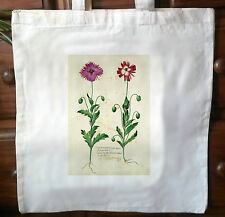 Victorian Repro cotton Shopping shoulder tote Shopper bags Botanical Print No.3