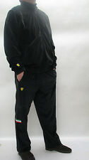 Puma Ferrary New Men sport suits pants jacket Black Velour Sport tracksuits  M