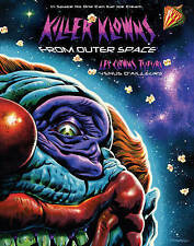"""KILLER KLOWNS FROM OUTER SPACE (1988)"" Cult Sci-Fi/Horror/Comedy BLU RAY 2012"
