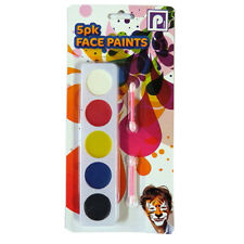 Children's Face Paint Pack - 5 Paints and Applicators Included