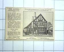 1927 The Loning, Colindeep Lane, Nw9, Oak Floors, Doors, Staircases From £1500
