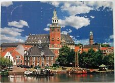 AK Leer Rathaus gel. 2002 nach Dortmund Ostfriesland Aurich Weser Ems Nordsee