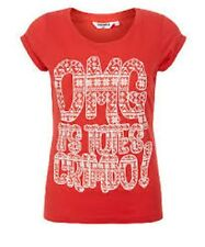 Teens Red OMG Crimbo T-Shirt New Look Red Age 8-9 Box4161 G