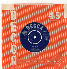 "Mike Preston - Mr Blue 7"" Single 1959"
