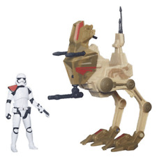 Star Wars Force Awaken Assault Walker & StormTrooper Officer Exclusive Figure