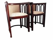 Antique pair armchair, Josef Hoffmann (Thonet/J&J Kohn), 1915