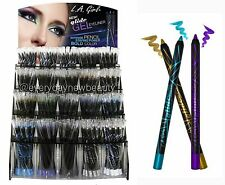 ( FULL SET 19 PC ) LA L.A. GIRL GEL GLIDE EYELINER PENCIL - MADE IN GERMANY