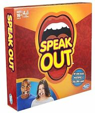 UK Stock Brand New Speak Out Board Party Game Pre-Order October Release